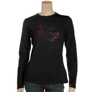 NCAA South Carolina Gamecocks Ladies Black Blackout Long