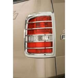 Wade 15034 Chrome Tail Light Cover for 04 06 Ford F150 Automotive