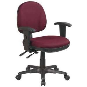 Chair with Adjustable Seat Height & Back Height, Adjustable Arms, Cas