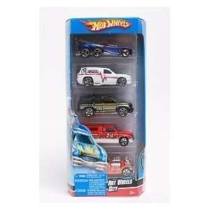 Hot Wheels 5 Car Gift Pack   Hot Wheels City Toys & Games