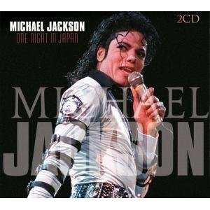 MICHAEL JACKSON cd ONE NIGHT IN JAPAN live double cd