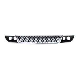 07 09 GMC Yukon Denali XL Black Grille Grill with Chrome