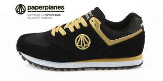 New MENS Paperplanes Running Gold shoes ALL SIZE