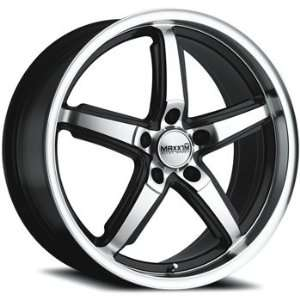 Maxxim Allegro 18x8 Machined Black Wheel / Rim 5x4.5 with