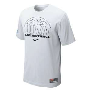 Iowa Hawkeyes Nike 2011 2012 White Official Basketball