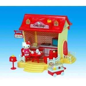 Hello Kitty Mini Cake Shop Playset Toy Toys & Games