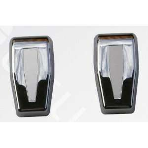Jeep Wrangler Unlimited Chrome Upper Rear Hinge Cover 2007