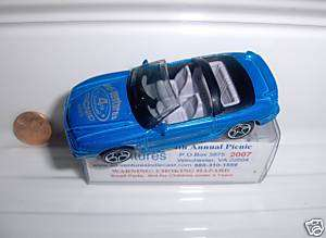 MATCHBOX AD VENTURES 2007 PICNIC FORD MUSTANG COBRA MB*