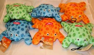 Plush Frogs Pet Dog Puppy Play Toy with Squeaker