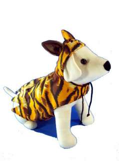 Tiger Shirt Dog clothes apparel costume dress M 4