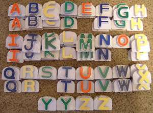 LEAP FROG FRIDGE PHONICS word whammerREPLACEMENT LETTER