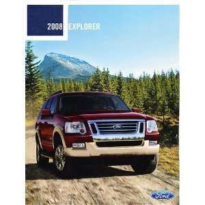 2008 Ford Explorer SUV Original Sales Brochure Everything