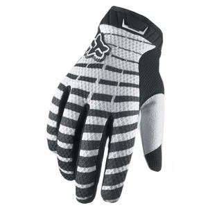 Fox Racing Airline Gloves   Small/White Automotive