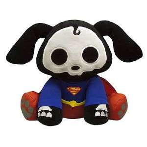 SKELANIMALS JLA SDCC 6 Plush BATMAN Superman FLASH Green Lantern 4p