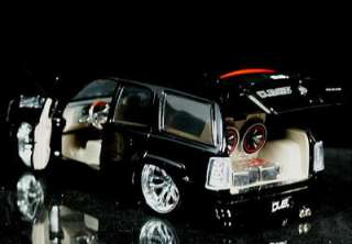 2002 Cadillac Escalde DUB City Diecast 124 Scale   Black