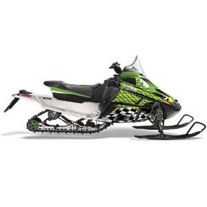 AMR Racing Fits Arctic Cat F Series Snowmobile Sled Graphic Kit