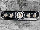 65 66 Mustang Black Dash Bezel w/ Classic Instruments Velocity White