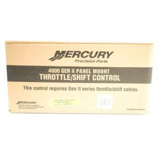 MERCURY 4000 GEN II PANEL MOUNT BOAT REMOTE CONTROL BOX