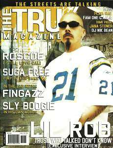 THE TRU MAGAZINE LIL ROB HIP HOP CHICANO RAP LOWRIDER