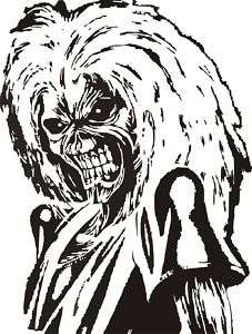 Iron Maiden Eddie Vinyl Decal,Sticker,Car Graphic