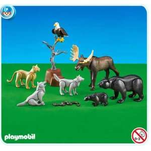 Playmobil North American Forest Animals Toys & Games