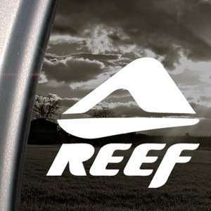 Reef Decal Skateboard Surf Snowboard Surfing Sticker Automotive