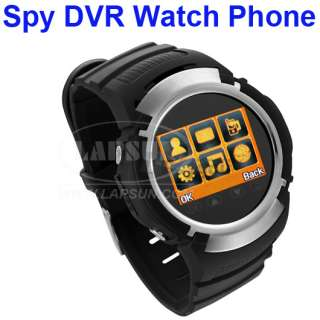TFT Touch Screen Unlocked Cell Mobile Phone Watch Hidden Camera