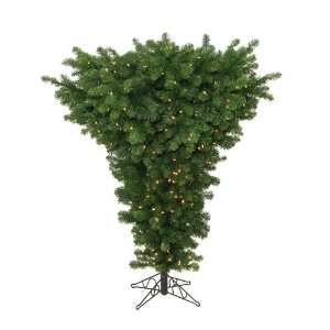 5 Pre Lit American Upside Down Artificial Christmas Tree
