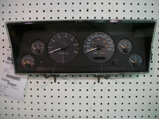 Dash Instrument Cluster Speedometer Gauges Tach
