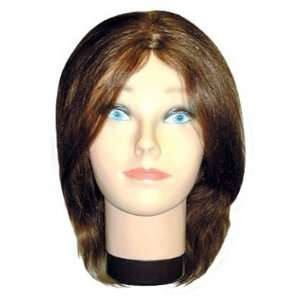 Hair Art Budget Mannequin 12 Female Mannequin 12 100% Human Beauty