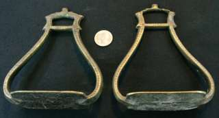 Offset Old Alpaka Barrel Racing Horse Riding Stirrups