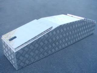 TRUCK PICKUP BED RV TRAILER GULL WING TOOL BOX LOCK 2 LIDS STORAGE