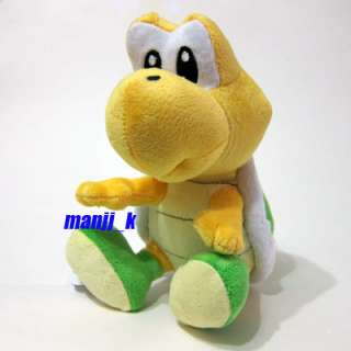 NEW Super Mario Plush Doll Figure Green Koopa Troopa
