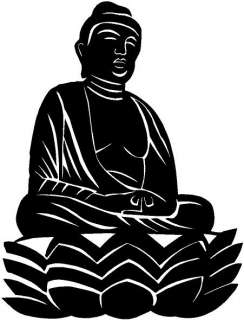 Buddha Vinyl Decal Sticker Car Truck Boat RV Window