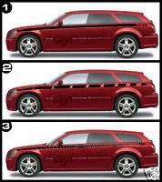 2005   2006 Dodge Magnum Side Stripe Decal CUSTOM