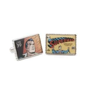 Penny Black 40 Superman Stamp Cufflinks (PB SP SL