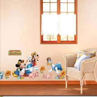 Mickey Mouse Disney Kids Wall STICKER Removable Decal