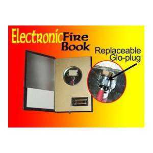 Book Electronic Replacable Glo Plug Magic Trick Set