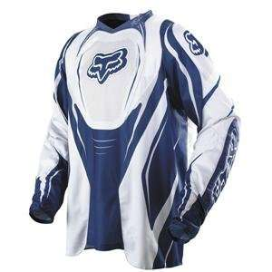 Fox Racing Flexair Jersey   2007   Large/Blue Automotive