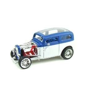 Ford Model A Custom (1931, 118, White) diecast car model Toys