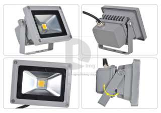 10W Warm White High Power LED Flood Wash Light Lamp Outdoor Waterproof