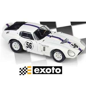 1/18 Scale Exoto 1965 Cobra Daytona Coupe The Ford of