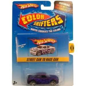 Hot Wheels Color Shifters Car   Dodge Charger SRT8 (Street