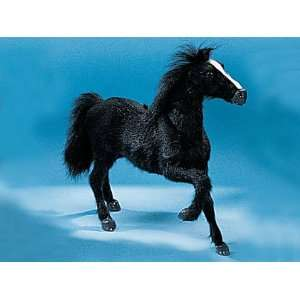 Horse Right Leg Up Collectible Figurine Pony Statue