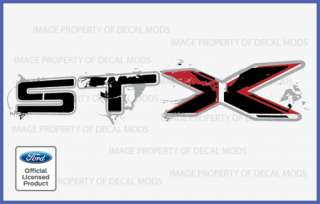 2010 Ford F150 STX Decals Stickers Set   F Truck Bed Side Full Color