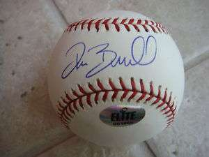 PAT BURRELL SAN FRANCISCO GIANTS SIGNED OFFICIAL BALL