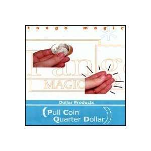 Pull Coin (Quarter) by Tango Toys & Games