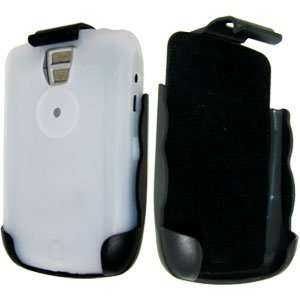 High Quality Amzer White Skinned Case Holster Combo Pack