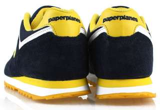 New MENS Paperplanes Running Navy shoes ALL SIZE