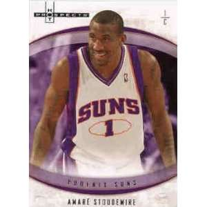2007 08 Fleer Hot Prospects #24 Amare Stoudemire